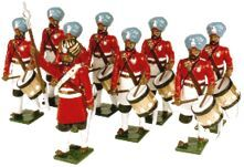 Toy Soldiers 54mm Painted in Gloss Indian Army 1890-1910