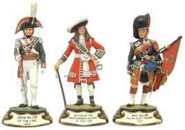 80mm Chas. C. Stadden Studios The Collector Range of Military Figures