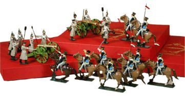 Toy Soldiers in 54mm Crimean War 1854-1856 Unpainted Kit/ Casting