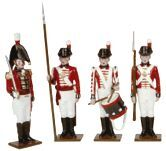 Toy Soldiers 54mm Painted in Gloss Napoleonic Royal Marines painted in gloss