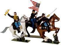Toy Soldiers 54mm Painted in Gloss ACW 1861-1865
