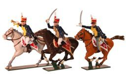 Toy Soldiers 54mm Painted in Gloss British troops Napoleonic Wars