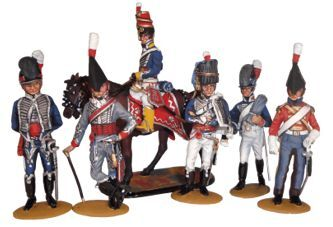 The  British Army Napoleonic War – Painted or Unpainted, kit/ castings
