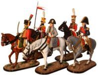 The French Army Napoleonic War - 54mm Model Soldiers