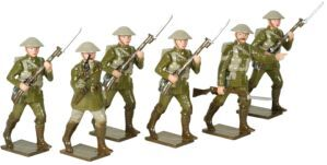 Toy Soldiers 54mm Painted in Gloss World War I - 1914-1918