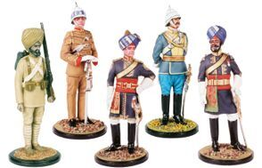 Indian Army 1897-1990 Painted or unpainted