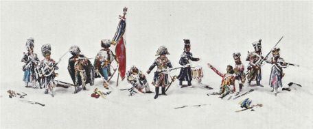 The Rearguard from Moscow 1812