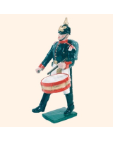 056 3 Toy Soldier Drummer Marching Kit
