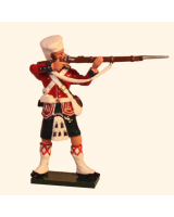 1100-1 Toy Soldier Highlander Standing Firing - 42nd Black Watch Kit