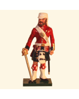 1103-1 Toy Soldier Officer 42nd Highland Regiment Black Watch Kit