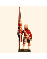 1103-2 Toy Soldier Ensign with the Queen's Colour 42nd Highland Regiment Black Watch Kit