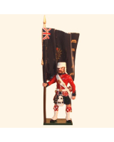 1103-3 Toy Soldier Ensign 42nd Highland Regiment Black Watch Kit