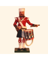 1103-5 Toy Soldier Drummer 42nd Highland Regiment Black Watch Kit