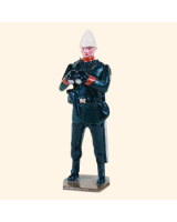 029 1 Toy Soldier Officer with Field Glasses Kit
