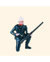 029 4 Toy Soldier Private kneeling loading Kit