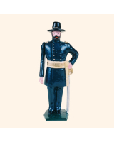 030 3 Toy Soldier Union General in hat Kit