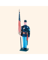 030 8 Toy Soldier Sergeant with flag Kit