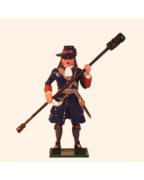 304-4 Toy Soldier Gunner with Ramrod of the Marlborough Artillery Kit
