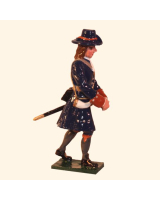304-5 Toy Soldier Gunner with Shell of the Marlborough Artillery Kit