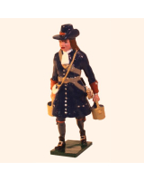 304-6 Toy Soldier Gunner with Water buckets of the Marlborough Artillery Kit