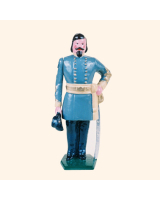 041 3 Toy Soldier General George E  Pickett Kit
