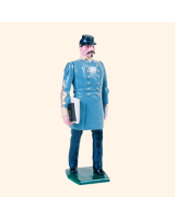 041 4 Toy Soldier Staff Officer Kit