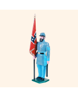 041 8 Toy Soldier Sergeant with flag Kit