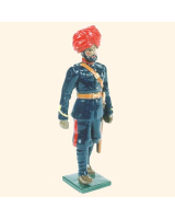 065 3 Toy Soldier Gunner Kit