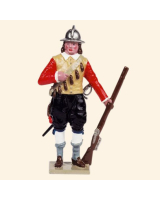 067-8 Toy Soldier Set Musketeer Kit
