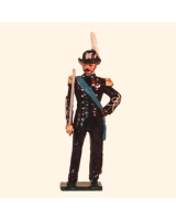 068 1 Toy Soldier Officer Italian Alpini Battalions Kit
