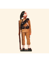 072 3 Toy Soldier Private Italian Bersaglieri China 1900 Kit