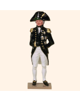 750 1 Toy Soldier Admiral Lord Nelson Kit