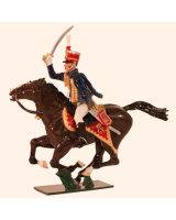 762-1 Toy Soldiers Officer 10th Prince of Wales's Own Hussars