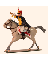 762-3 Toy Soldiers Trumpeter 10th Prince of Wales's Own Hussars