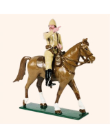 091 01 Toy Soldier Officer on Horseback The Boer War Kit