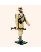 091 03 Toy Soldier Seaman Marching at the trail The Boer War Kit