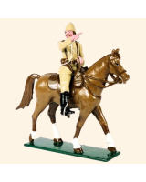 092 1 Toy Soldier An Officer on Horseback The Boer War 1899 Kit
