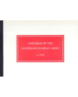 No 01A Uniforms of the Austro Hungarian Army c 1914 Booklets