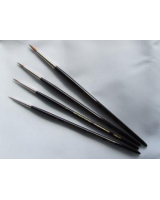 1855 Kolinsky Sable Brush Set Large - 0, 1, 2, 4