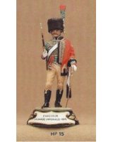 No.015 - Chasseur a Cheval La Garde Imperiale 1810 Kit/ Unpainted