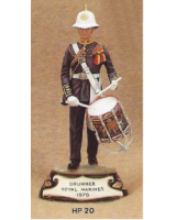 No.020 - Drummer Royal Marines 1976 Kit/ Unpainted