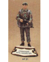 No.021 - Royal Marine Commandos 1976 Kit/ Unpainted