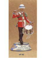 No.042 - Drummer Princess Patricia's Canadian Light Infantry 1979 Kit/ Unpainted