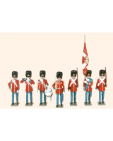 D4A Toy Soldiers Set The Danish Royal Guard Painted