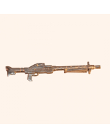 No.033 Rifle - Mausser MG42 Light Machine Gun German Army WW2 - Kit, unpainted Scale 1:32/ 54mm