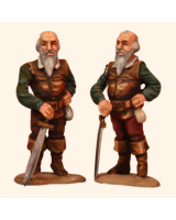 F54 08 Twin Dwarves Painted