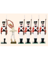D6A Toy Soldiers Set The Steadfast Tin Soldier Set Painted