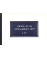 No 04A The uniforms of the Imperial German Army c 1892 Booklets