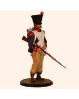 JW80 05 French Napoleonic Infantry Private Spanish Campaign Painted