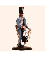 JW80 08 French Hussar Trooper 1814 Painted
